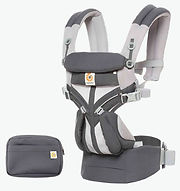 Ergobaby Omni 360 Baby Carrier, Cool Air Mesh, Carbon Grey