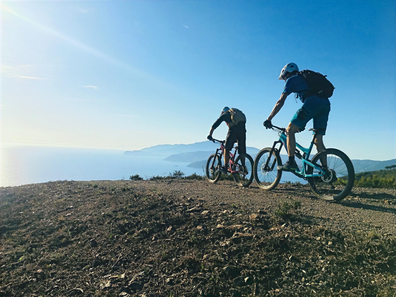 Mountainbike  auf  Elba  1