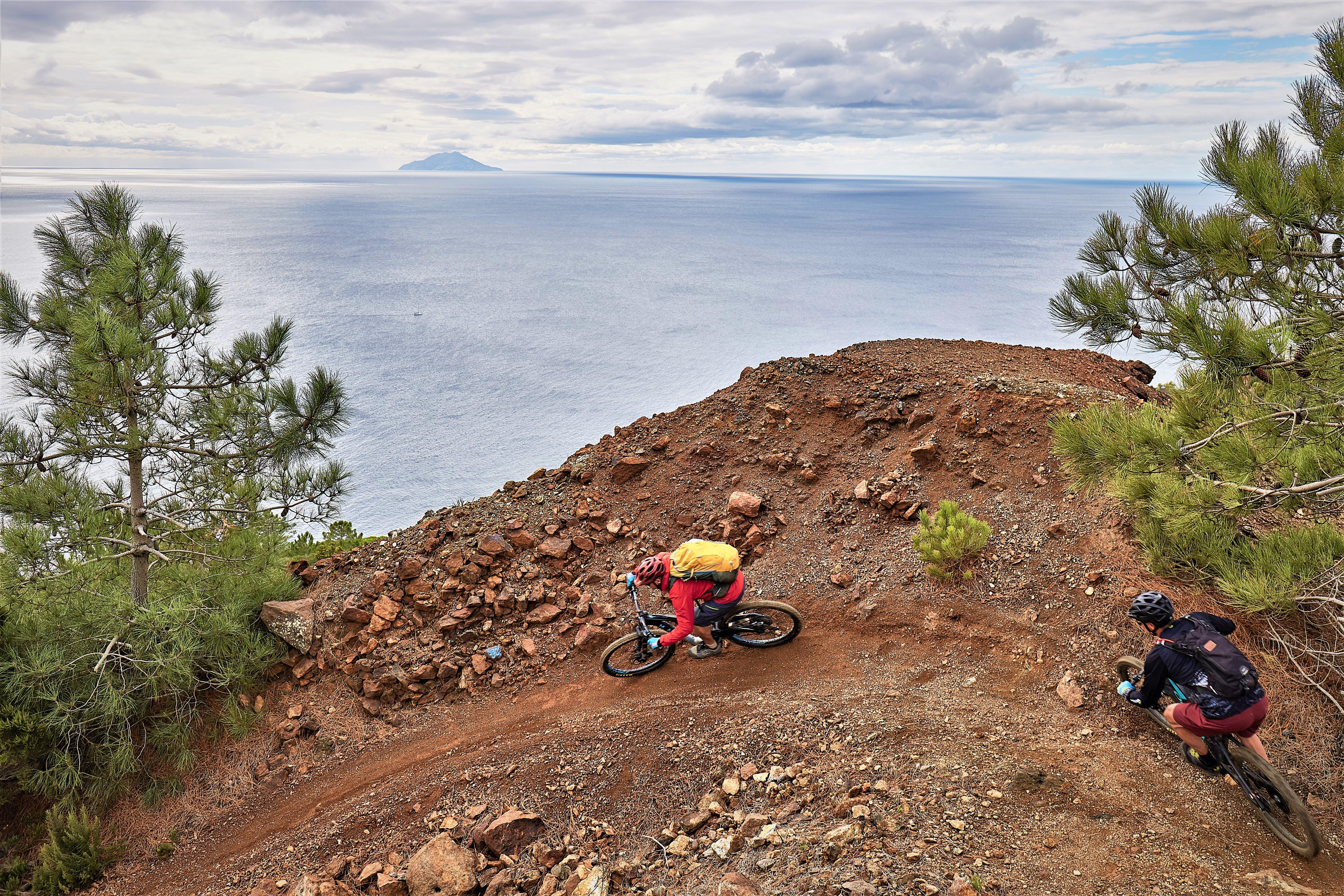Mountainbike  auf  Elba  2
