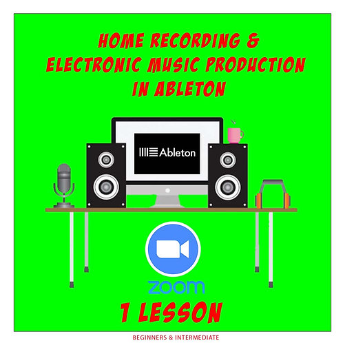 Lessons in Home Recording & Ableton