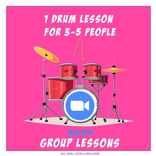 Group lessons for 3