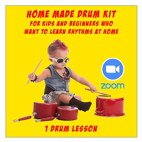 Lessons on home made drumkit