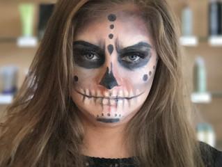 Halloween Makeup Look of the Week!
