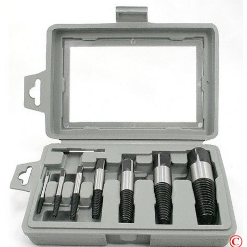 8 piece Easy Out Screw Bolt Extractor Set