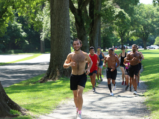 James' 900-mile run is a symbolic fundraiser.