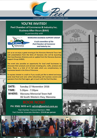 November BAH in partnership with SOW and