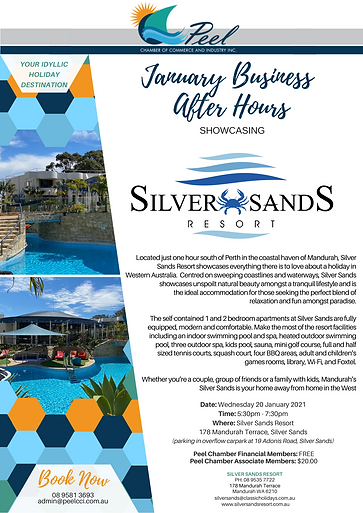 January BAH showcasing Silver Sands Reso