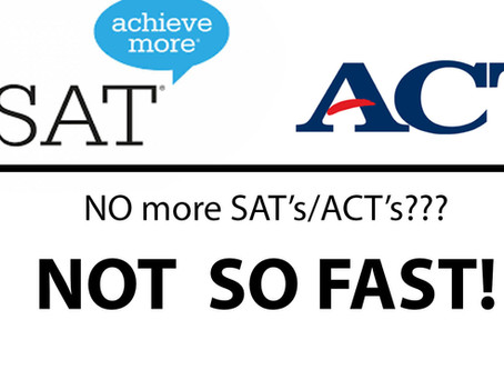 Why many students will still need to take the SATs...