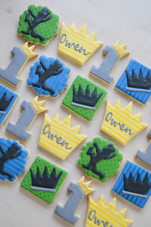Where The Wild Things Are Birthday Cookies