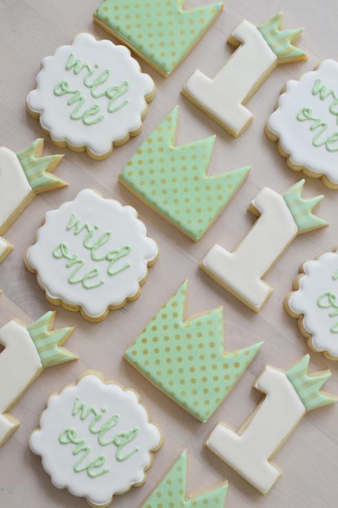 Wild Things Birthday Cookies