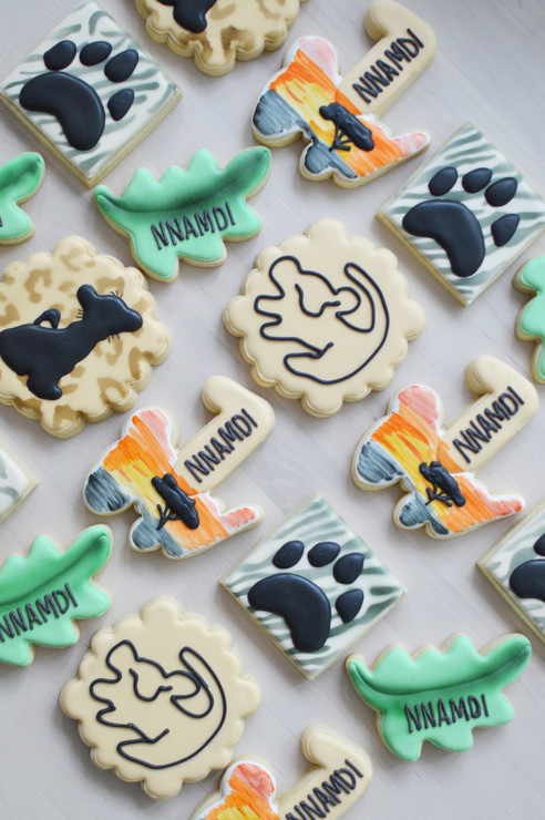 Lion King Birthday Cookies