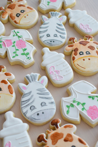 Animal Baby Shower Cookies