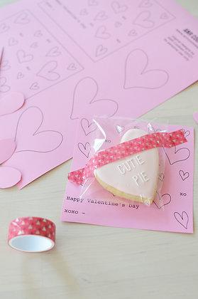 Printable Square Valentine