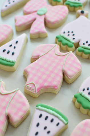 Summer Baby Shower Cookies