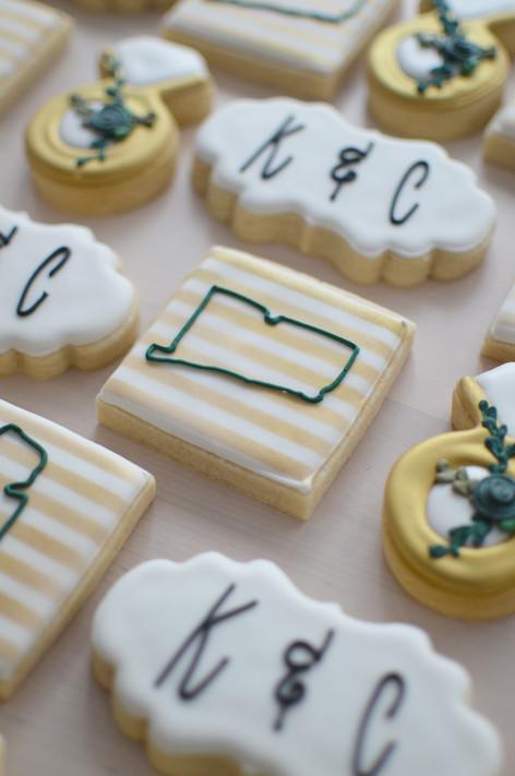 Connecticut Wedding Cookies