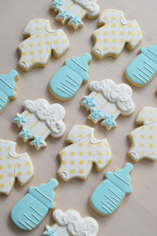 Star Baby Shower Cookies
