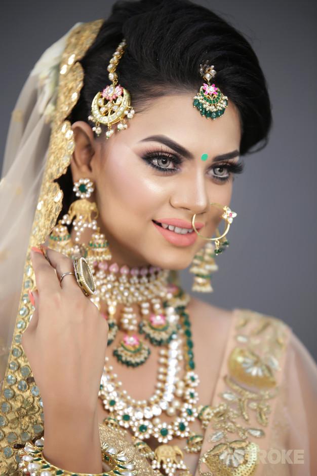Beautiful Bridal Makeup by Cyruss Mathew | fstroke