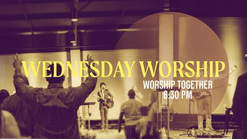 Wednesday Worship
