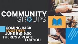 Community Groups Return