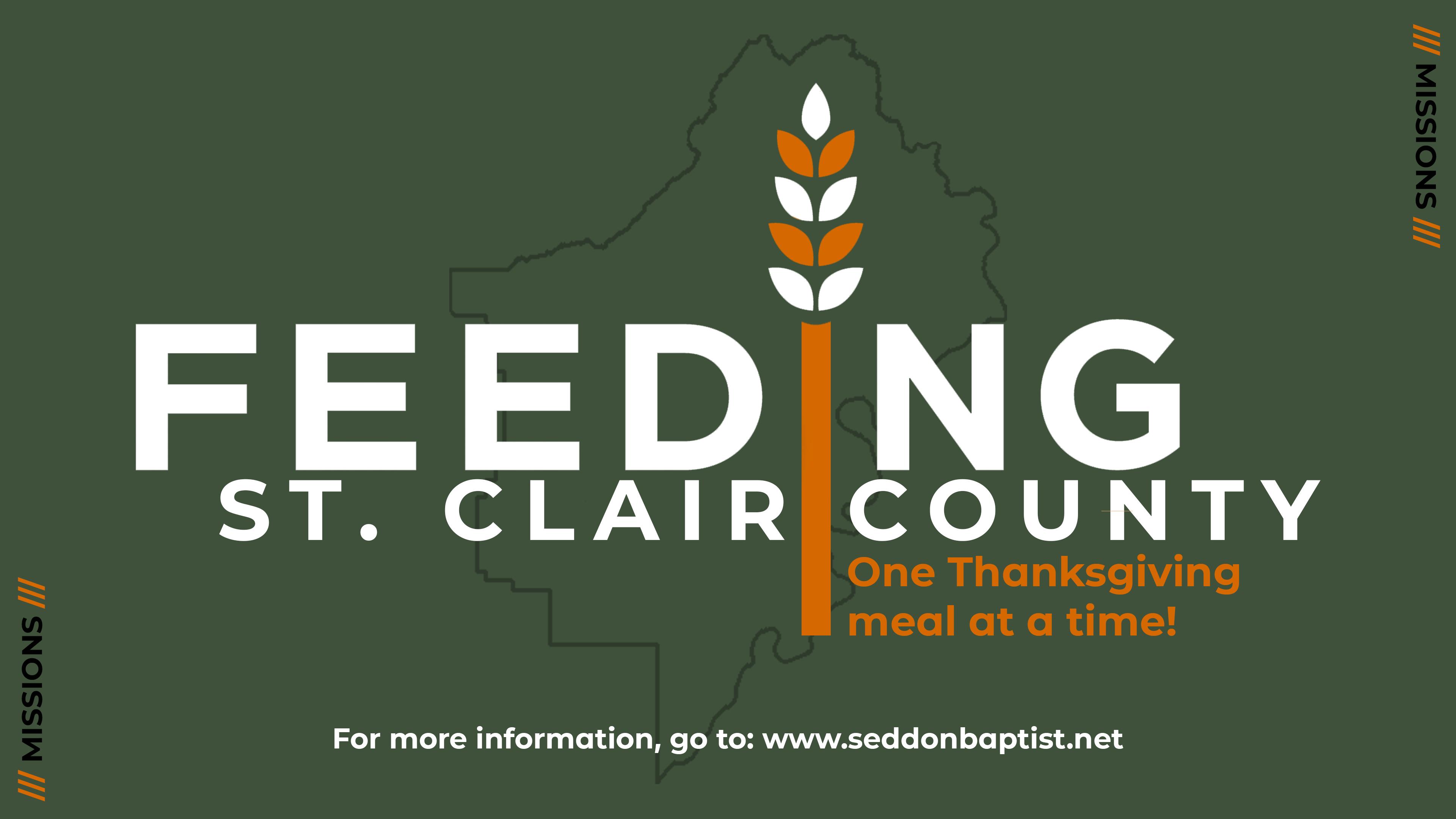 SeddonBC Missions: Feeding St. Clair County
