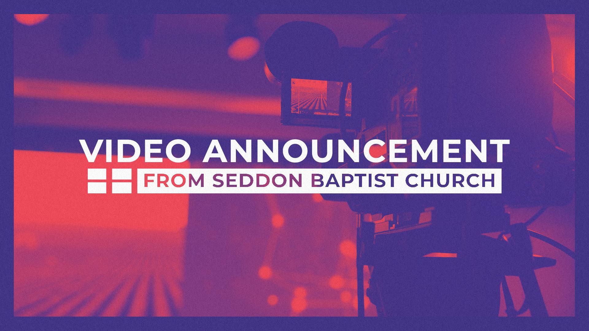 COVID-19 SBC Video Announcement