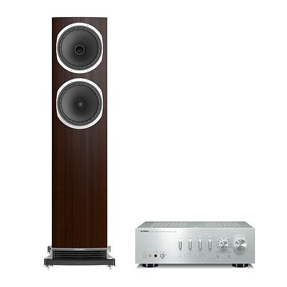 Pakkeløsning: Yamaha A-S801 og Fyne Audio F502