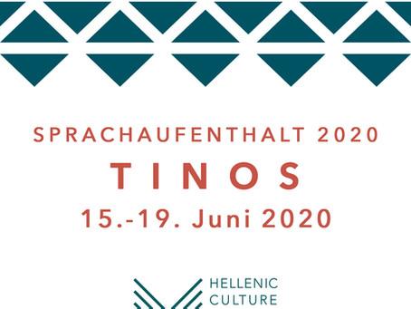 SPRACH- UND KULTURSEMINAR AUF TINOS /  15. - 19. JUNI 2020