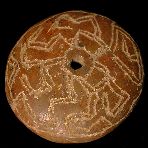 Costa Rican Disk-shaped spindle