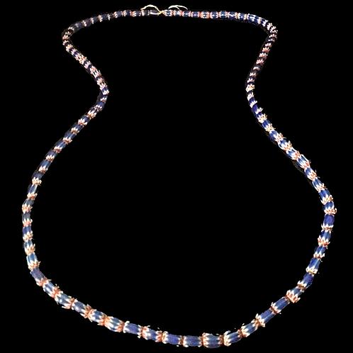 Layered Marino bead Necklace