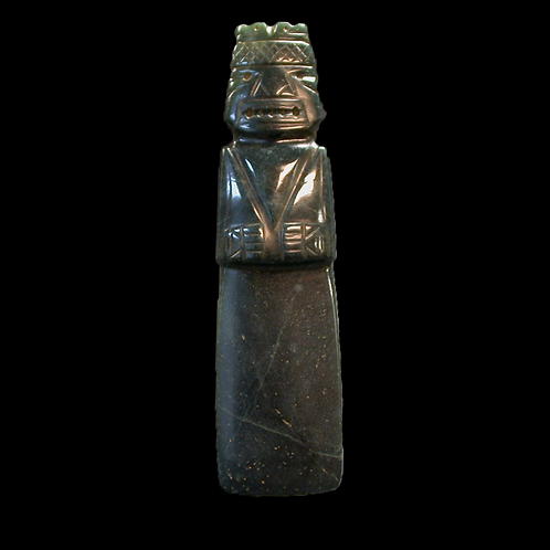 """SALE"" Human Effigy Costa Rican Jade Axe God (DiosHhacha)"