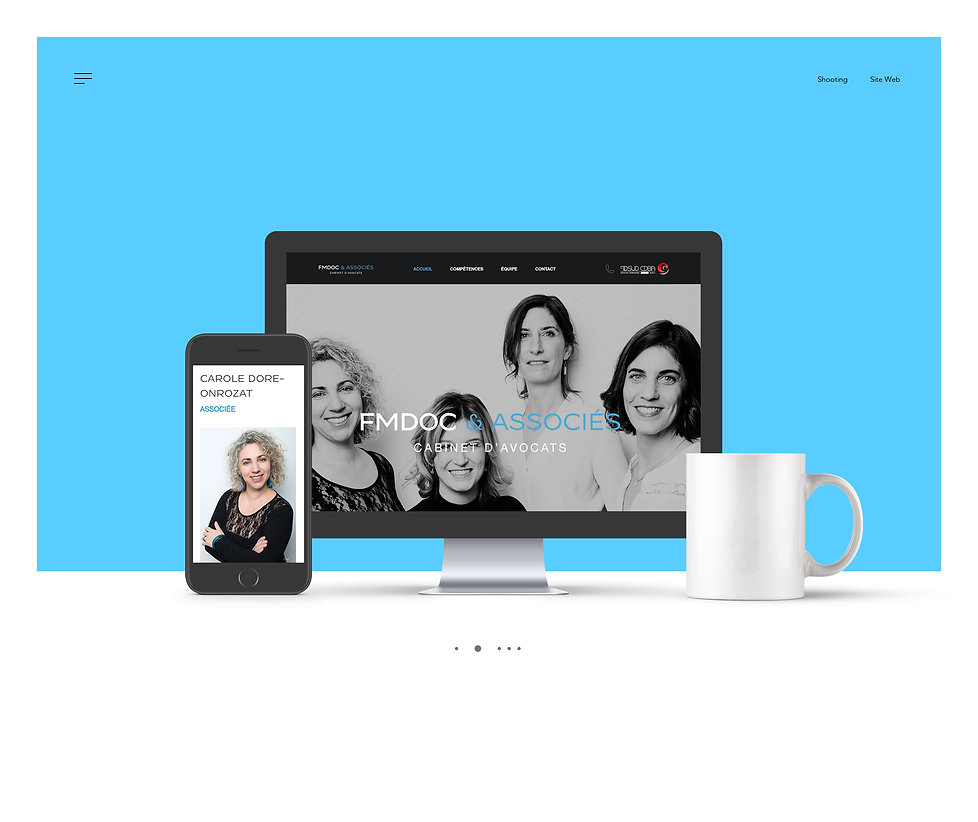 Site Web et Responsive mobile FMDOC
