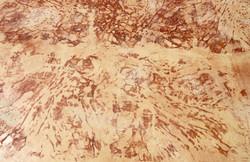 béton imprimé imitation roche