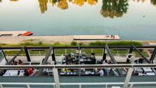 Terrasse Restaurant, Soleil couchant