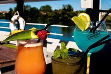 Cocktails colorés Le Nautic, Mojito, San