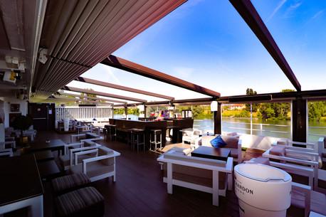 Terrasse Couverte, vue intérieure et sur