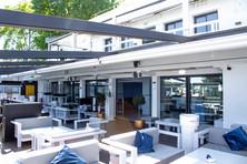 Terrasse couverte extérieure