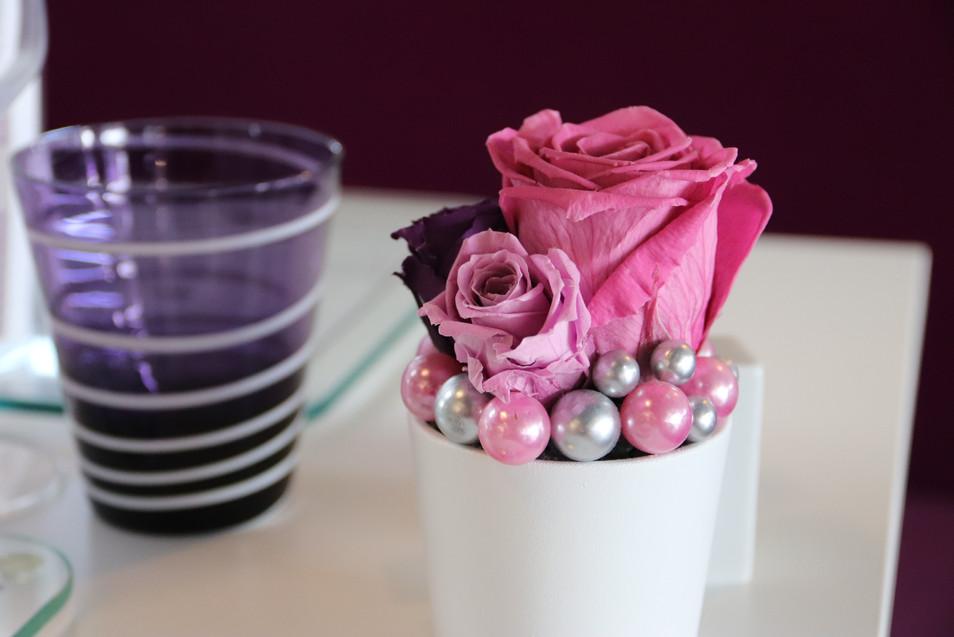 Décoration florale de table
