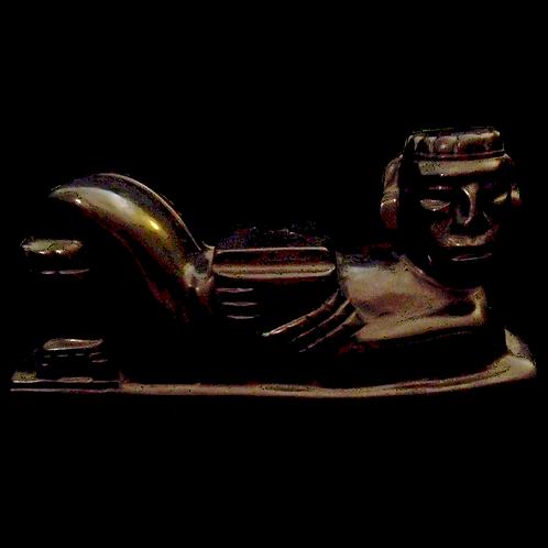 Human effigy seat