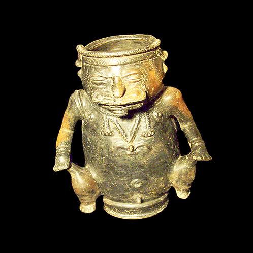 Anthropomorphic Tairona Figure Jar