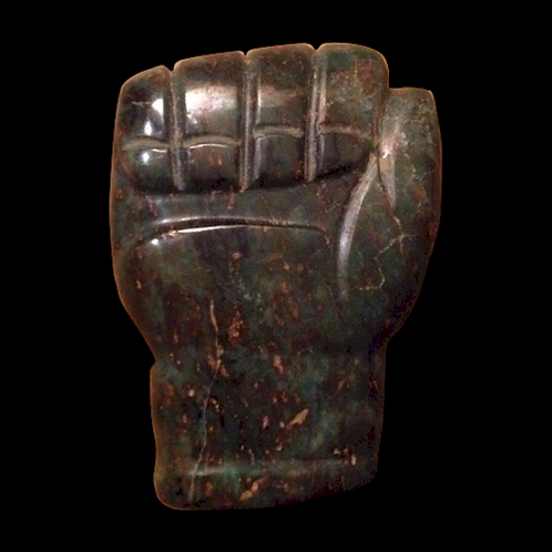 Double sided human effigy fist