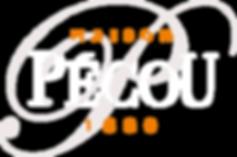 Logo Pécou - Blanc en réserve