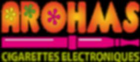 arohms, logo, cigaretts,electroniques