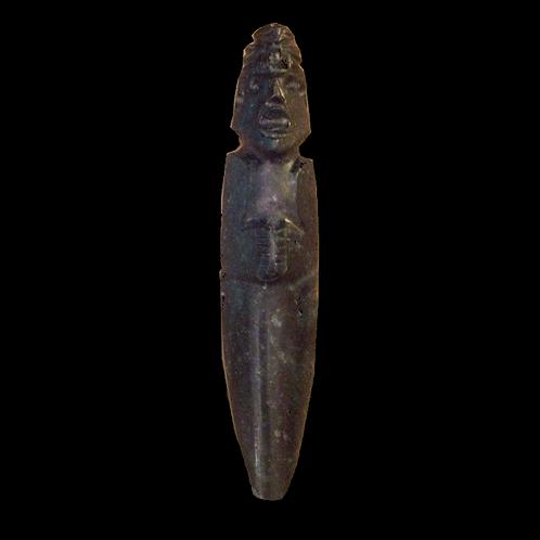 Human effigy Costa Rican Jade Axe God (DiosHhacha)