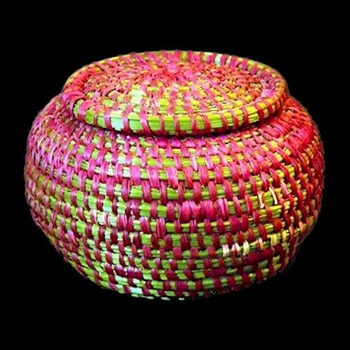 Coushatta Pine Needle Basket