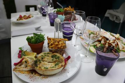 Présentation des plats