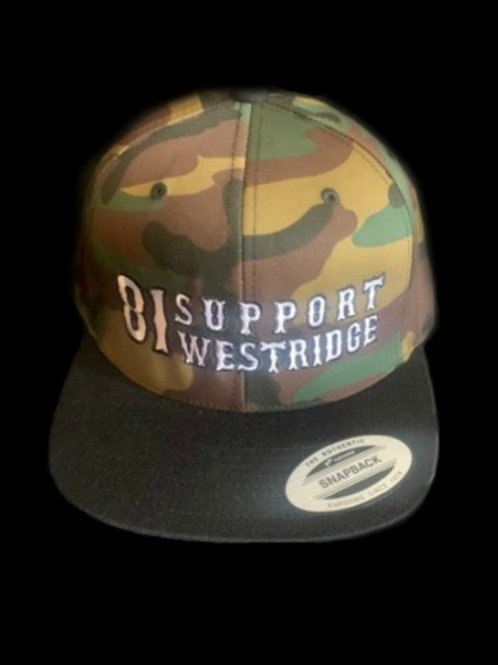 Camo 81 Support Snap Hat
