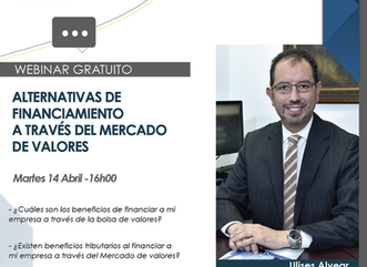 "Q&A webinar ""Alternativas de Financiamiento en el mercado de Valores"""