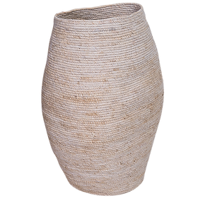 Seagrass Tall Basket White $149