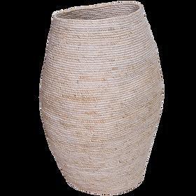 Seagrass Tall Basket White $149