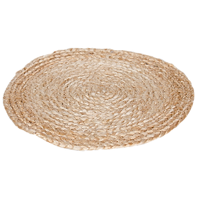 Natural Jute Round Placemat Set (4) $29